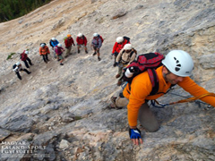 Rax, Hohe Wand, Dolomitok, Franciaország via ferrátái